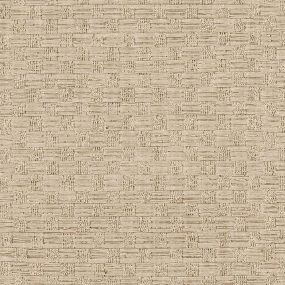 Beige Woven Texture Wallpaper Sample