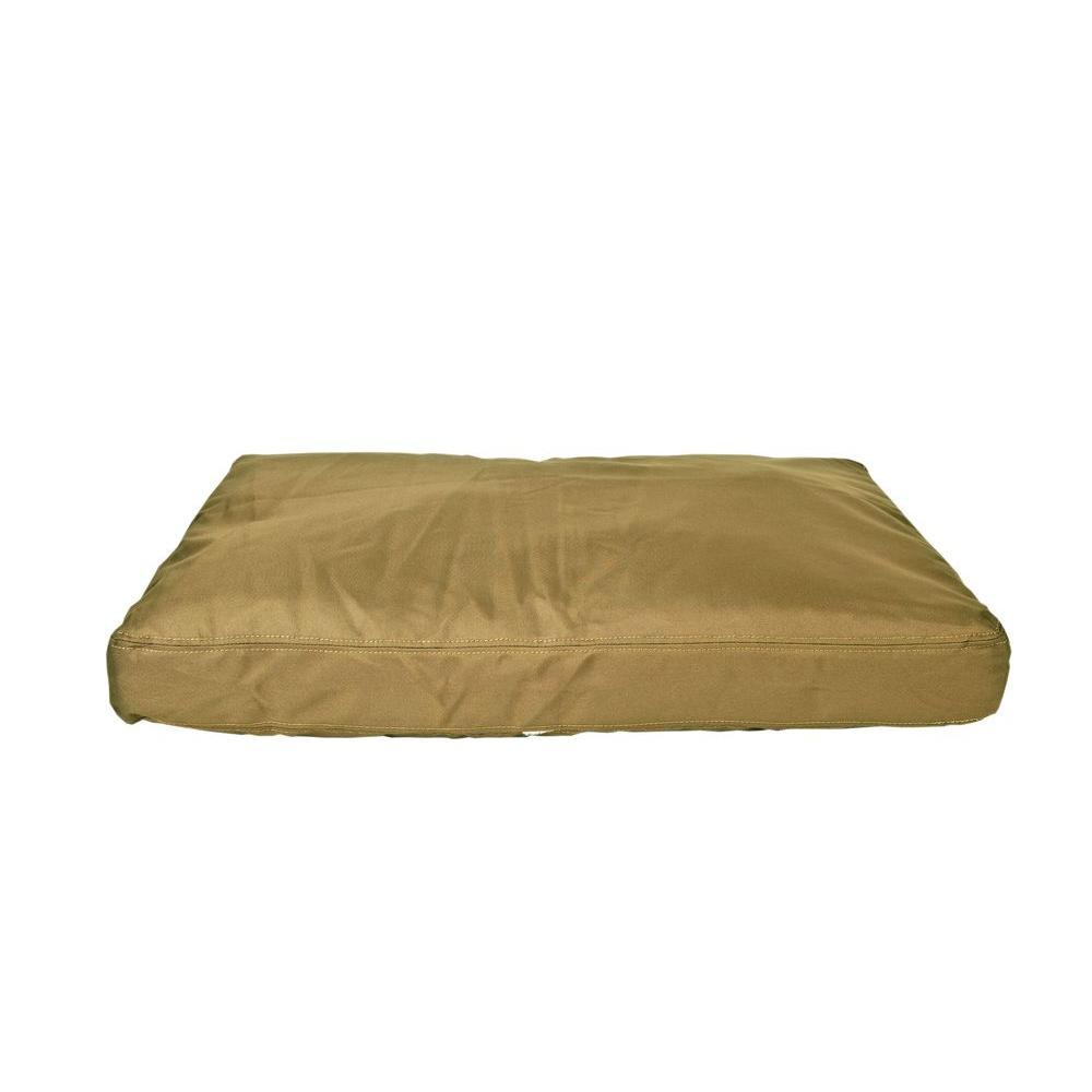 null Large Brutus Tuff Khaki Saddle Stitch Petnapper Dog Bed