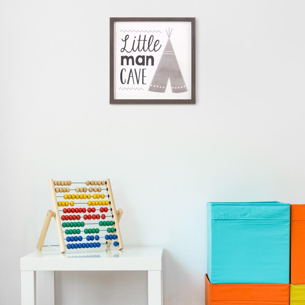 Teepee Explore Adventure Black /& White Modern Nursery Kids Room Print Wall Art