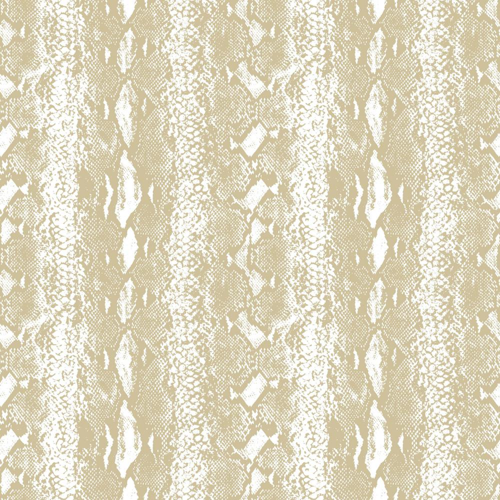 Roommates 28 18 Sq Ft Snake Skin White Gold Peel And Stick