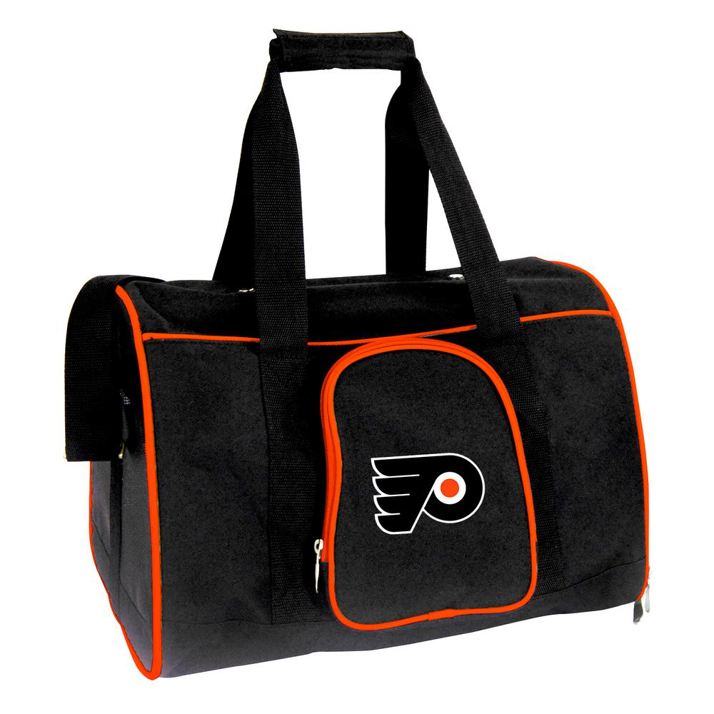 NHL Philadelphia Flyers Pet Carrier Premium 16 in. Bag in Orange