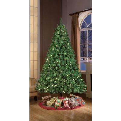 7.5 ft. Pre-Lit Stonehill Pine with 700 Clear Lights