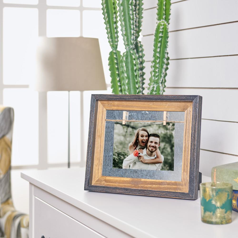 Danya B 5 In X 7 In Rustic Horizontal Wood Picture Frame