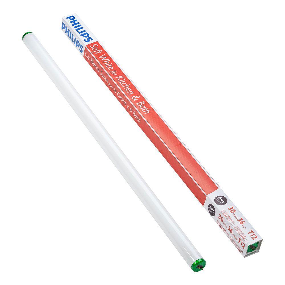 philips 30 watt 3 ft linear t12 fluorescent light bulb soft white