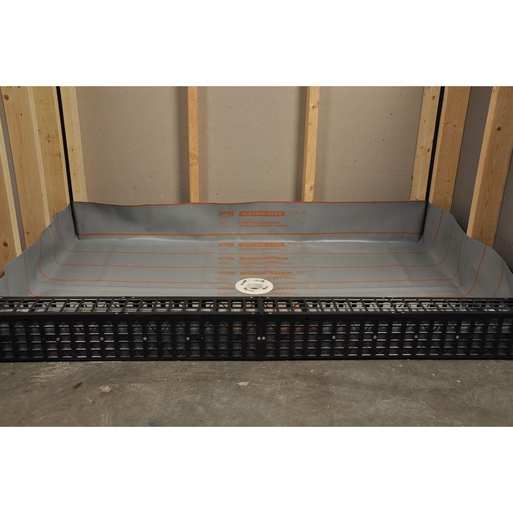 Kirb-Perfect Shower Curb Building Kit