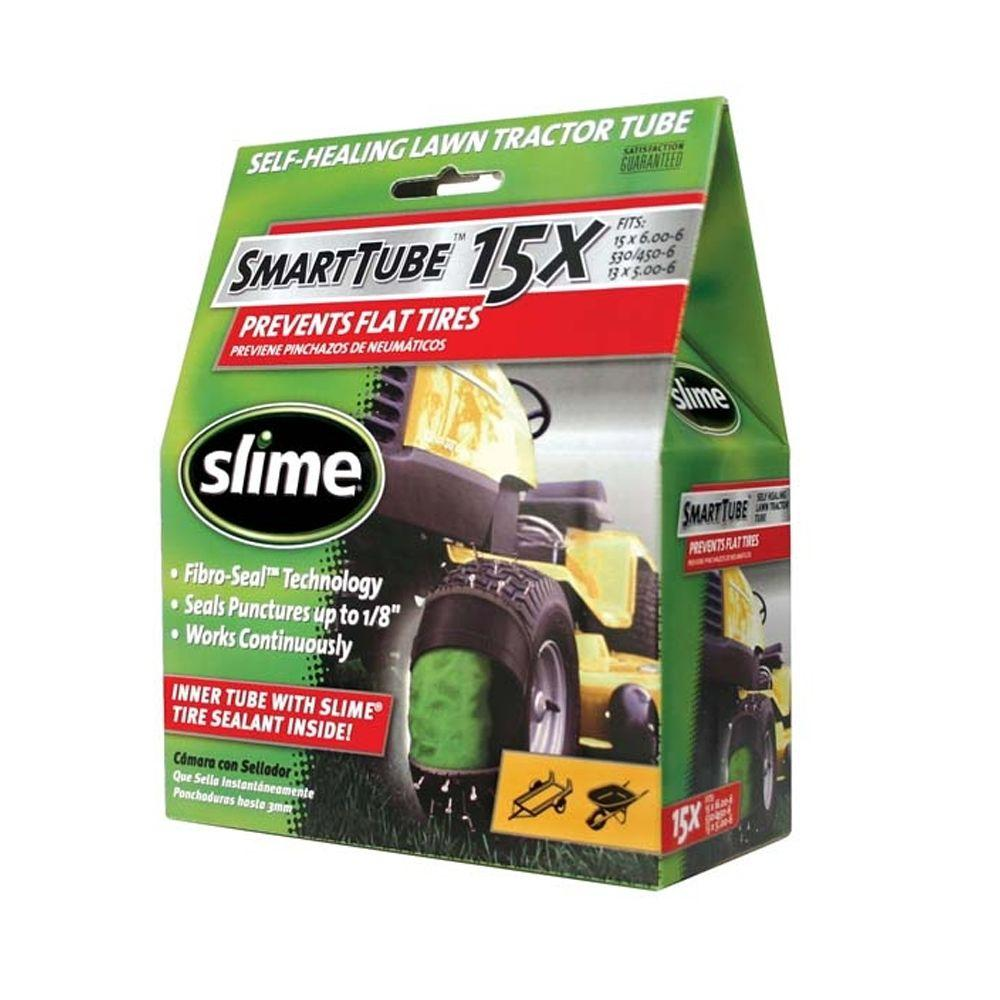 Slime Smart Tube 15 in. Tractor Tire Tube with Sealant-DISCONTINUED