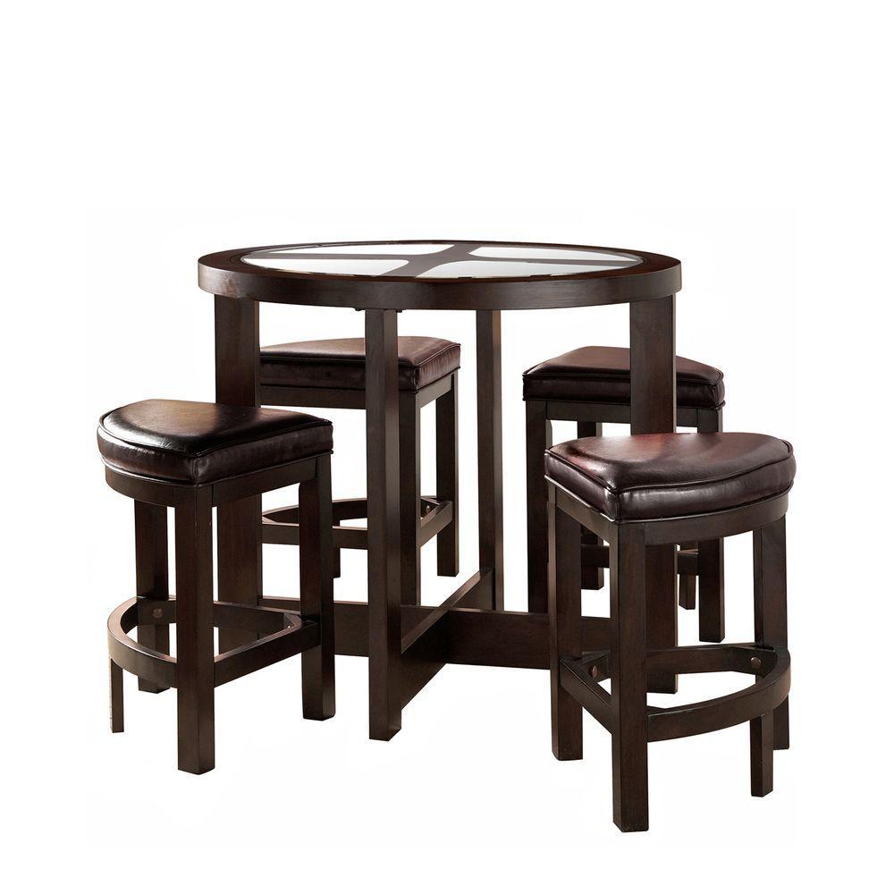 HomeSullivan 5-Piece Counter Height Dining Set