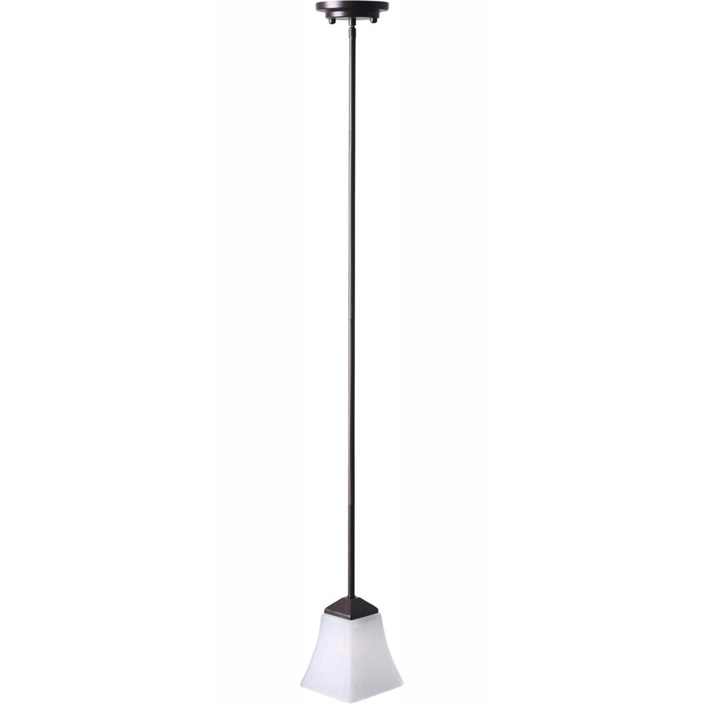 Torino 1-Light Brushed Bronze Mini Pendant