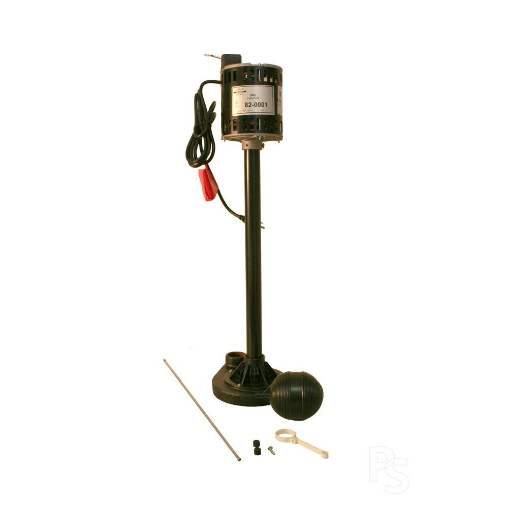 Zoeller Old Faithful Pedestal M2 .33 HP Dewatering and Sump Pedestal Automatic Pump-DISCONTINUED