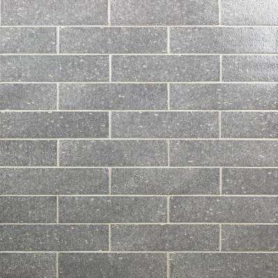 Rhythmic Downpour 2 in. x 9 in. 12mm Glazed Clay Subway Tile (30-piece 4.63 sq. ft. / box)