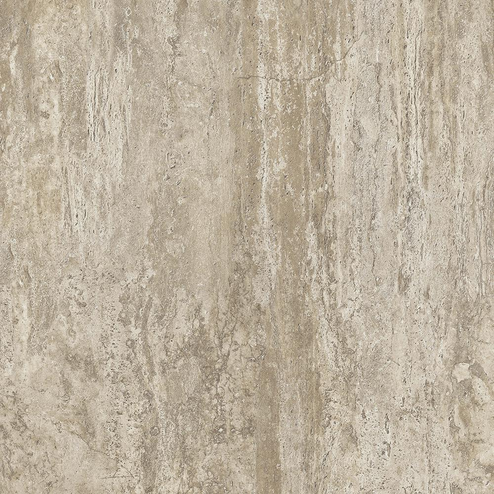 Armstrong Armstrong Take Home Sample - Warm Day Peel and Stick Vinyl Tile Flooring - 5 in. x 7 in., Beige Low Gloss