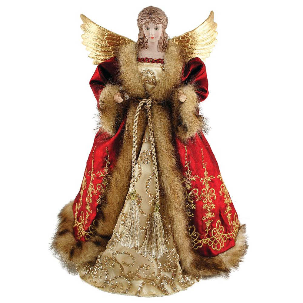 Christmas Tree Toppers Christmas Tree Decorations The Home Depot - Christmas Tree Angel Toppers