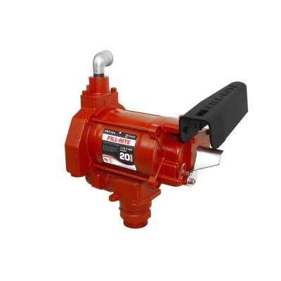 115-Volt 1/3 HP 20 GPM Fuel Transfer Pump with No Accessories (Pump Only)