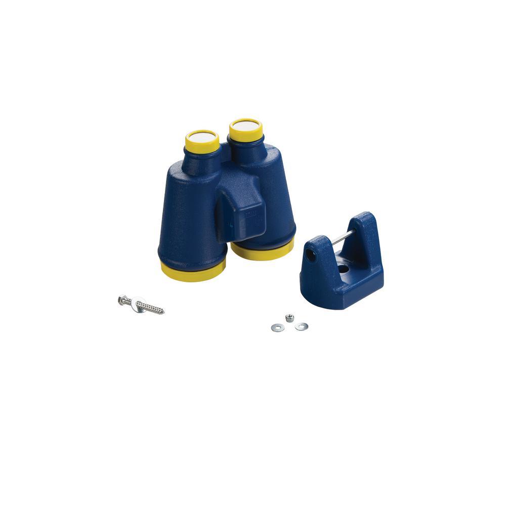 Large Plastic Binoculars- Blue