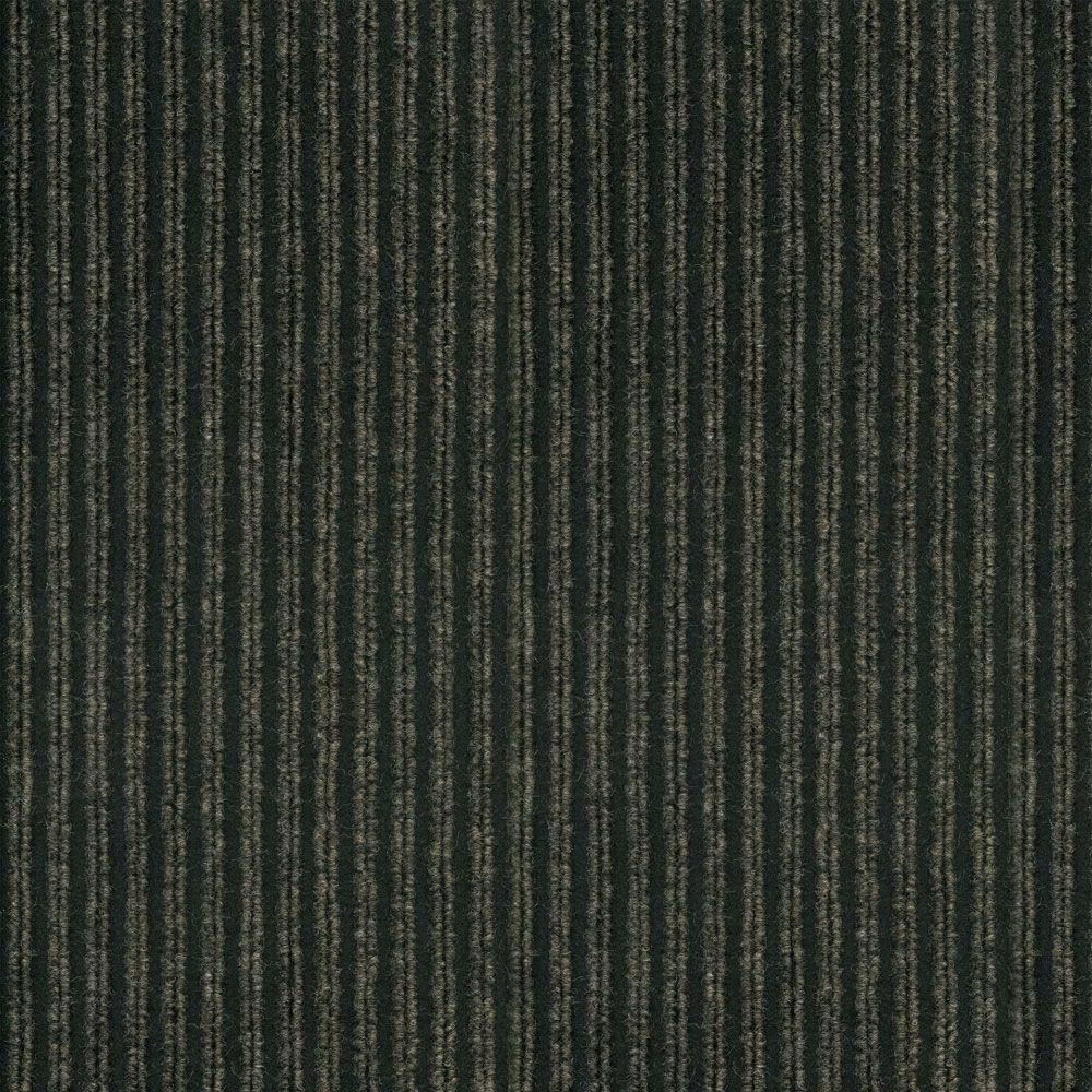TrafficMASTER Corduroy Bark/Black 18 in. x 18 in. Carpet Tiles (16 Tiles/Case)-DISCONTINUED