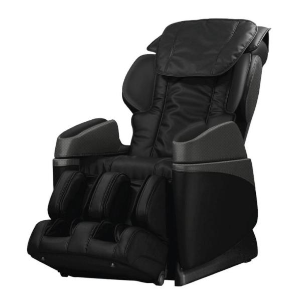 TITAN Osaki Black Faux Leather Reclining Massage Chair OS-3700BLACK