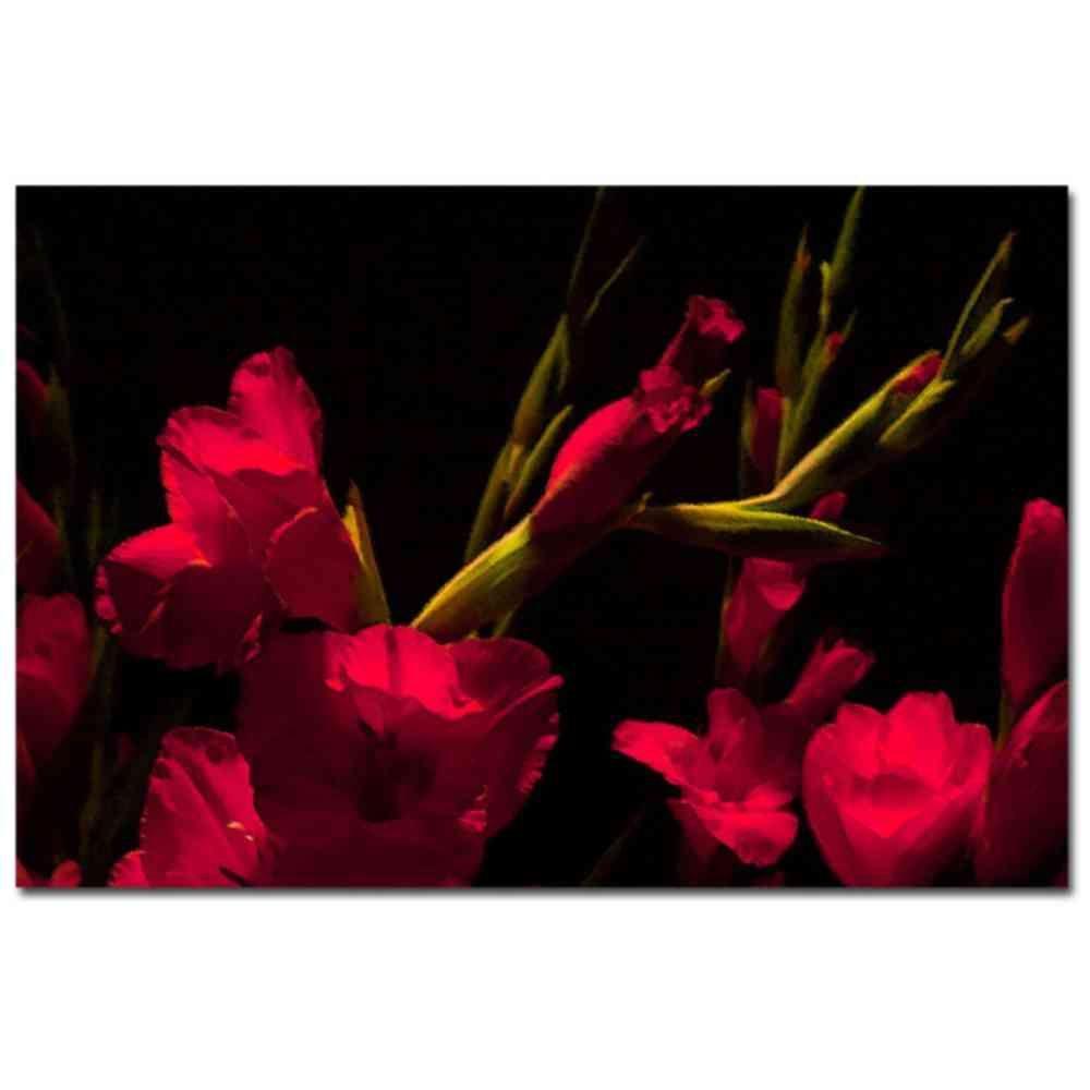 24 in. x 16 in. Gladiolus II Canvas Art