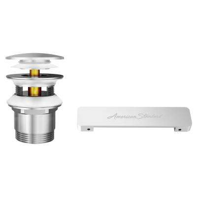 Kipling Overflow Cover and Drain Kit in Brushed Nickel