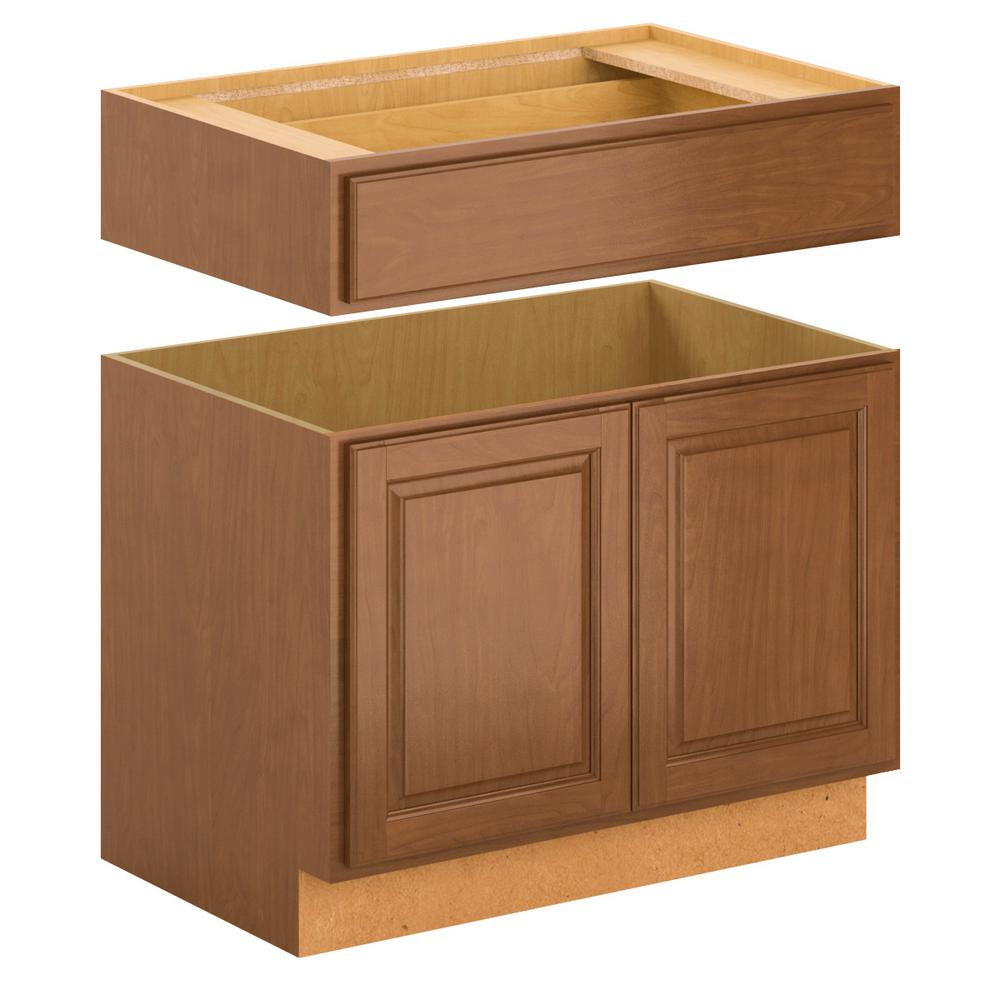 home depot kitchen sink base cabinets hampton bay assembled 36x34 5x24 in accessible 8402