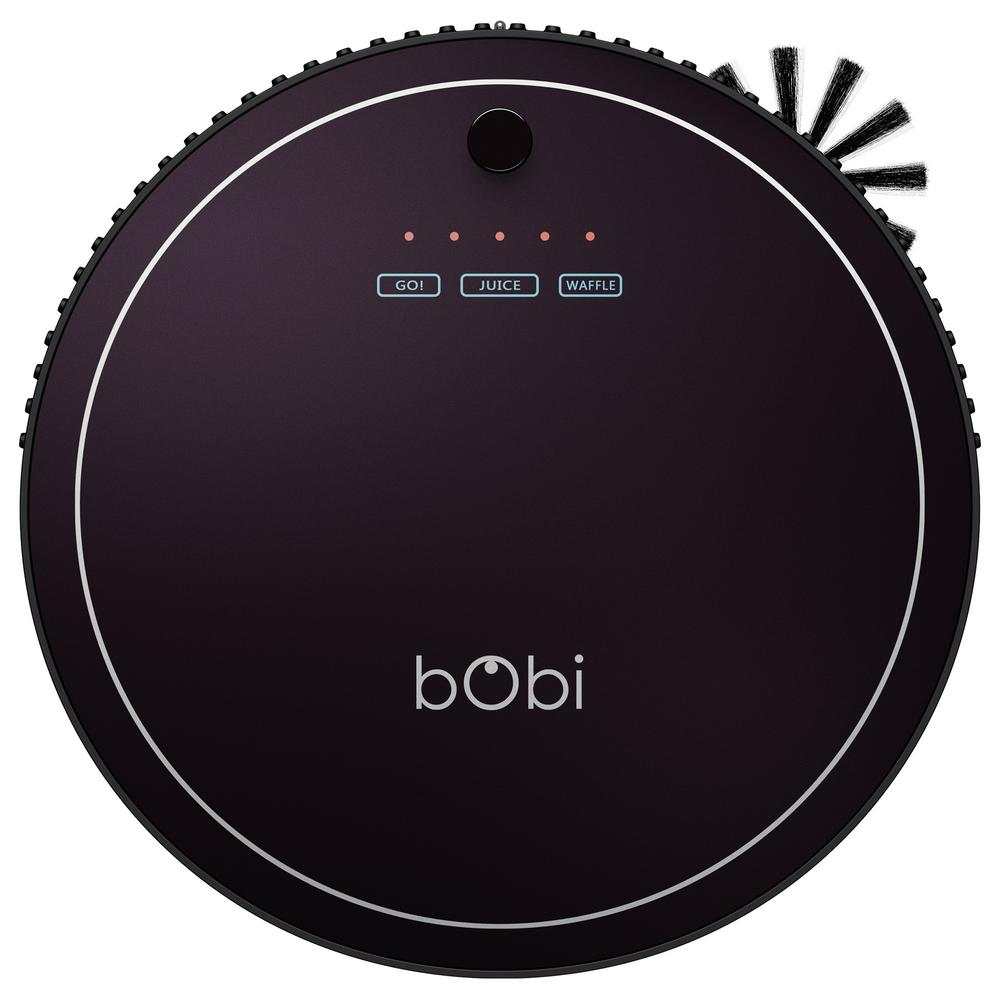 bObsweep bObi Classic Robotic Vacuum Cleaner and Mop Blackberry was $299.99 now $179.99 (40.0% off)