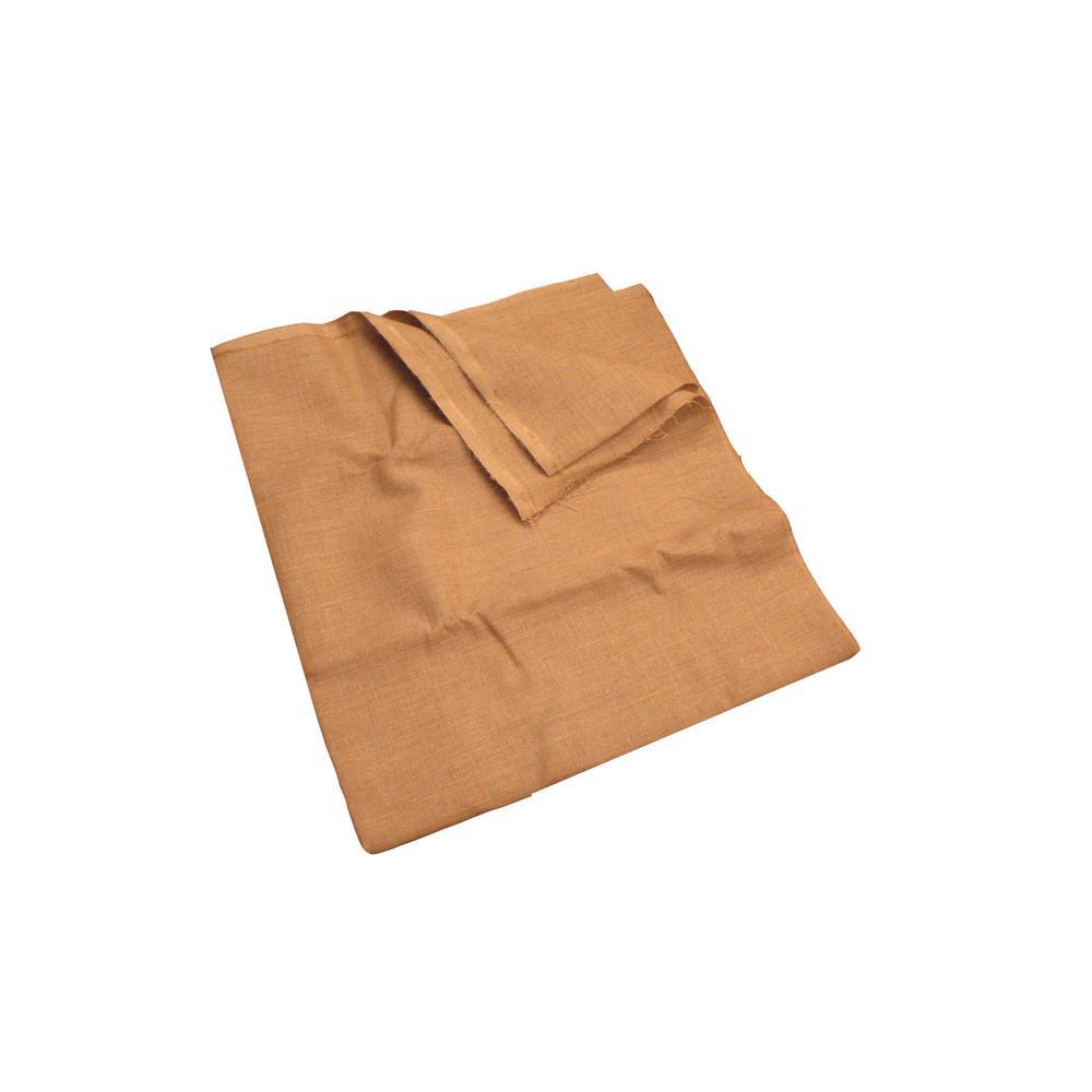 60 in. W Natural Burlap Fabric in Natural
