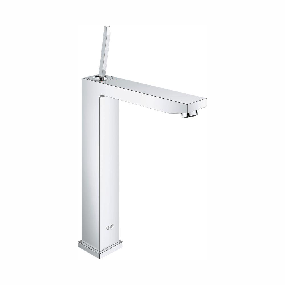GROHE Eurocube Joy XL-Size Single Hole Single-Handle Vessel Bathroom Faucet in StarLight Chrome