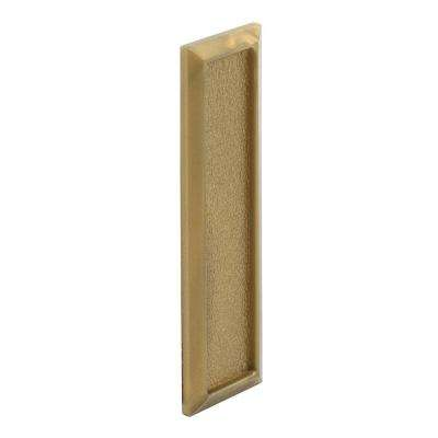 Gold Plastic Self-Adhesive Window Finger Pull