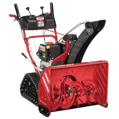 28 in. 277 cc Two-Stage Gas Snow Blower with Electric Start and Track Drive and Heated Grips