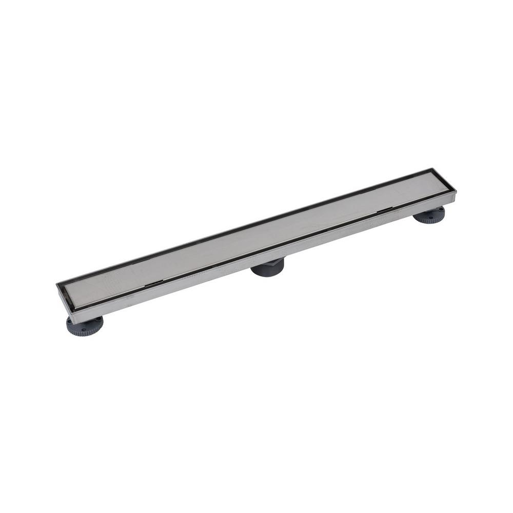 28 in. SS Linear Drain Tile-In Grate