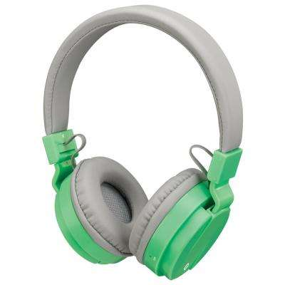 Bluetooth Wireless Headphone, Light Green