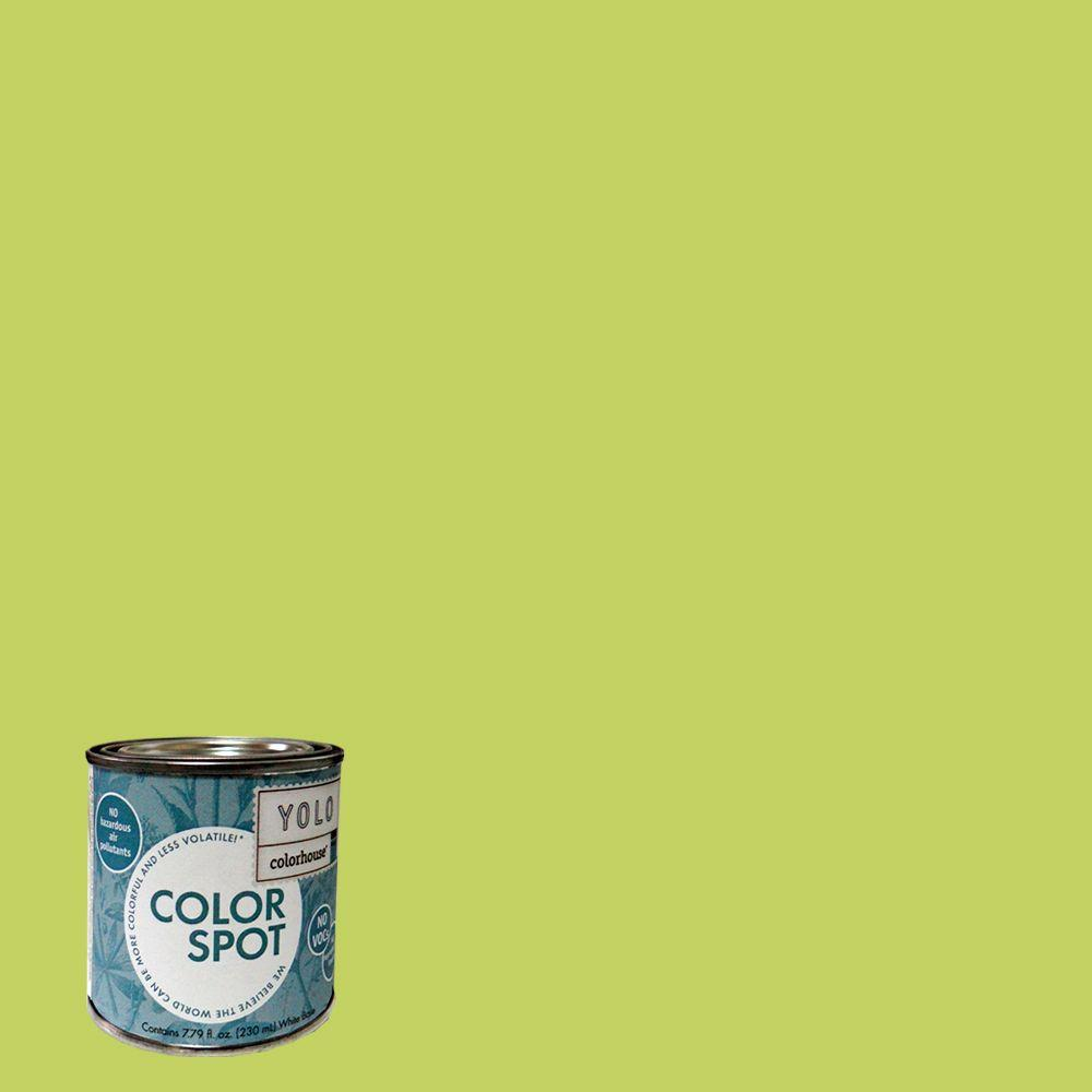 YOLO Colorhouse 8 oz. Petal .02 ColorSpot Eggshell Interior Paint Sample-DISCONTINUED