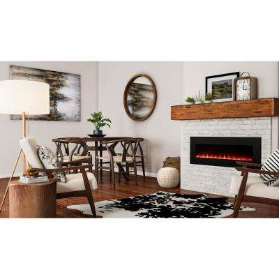 Trinidad 42 in. Wall Mounted Fireplace