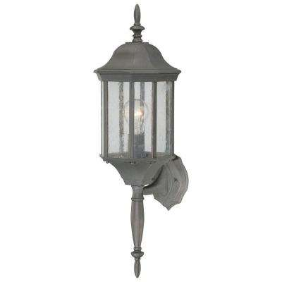 Hawthorne 1-Light Painted Bronze Outdoor Wall Lantern