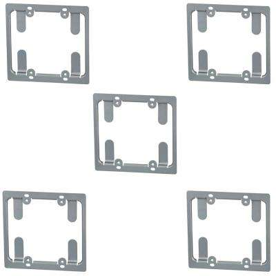 2-Gang Low Voltage Mounting Bracket (5-Pack)