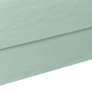 Williamsburg Abby Sage Solid Queen Bed Skirt