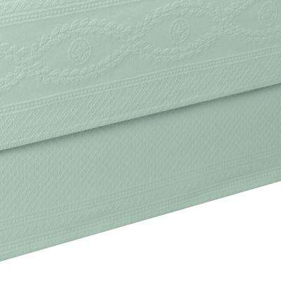 Williamsburg Abby Sage King Bed Skirt