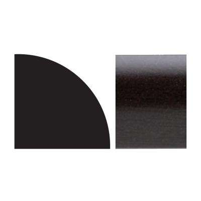 5111 5/8 in. x 5/8 in. x 8 ft. PVC Composite Espresso Quarter Round Moulding