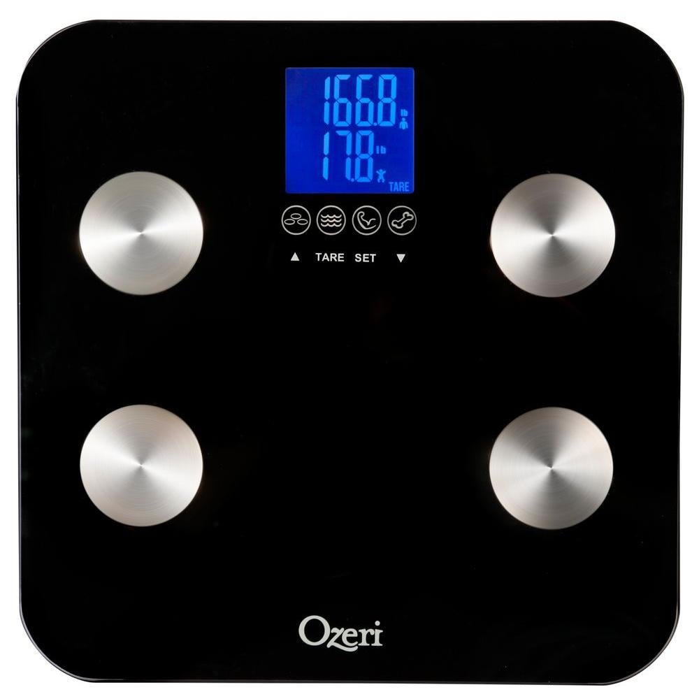 null Ozeri Touch Digital 440 lb. Total Body Bath Scale
