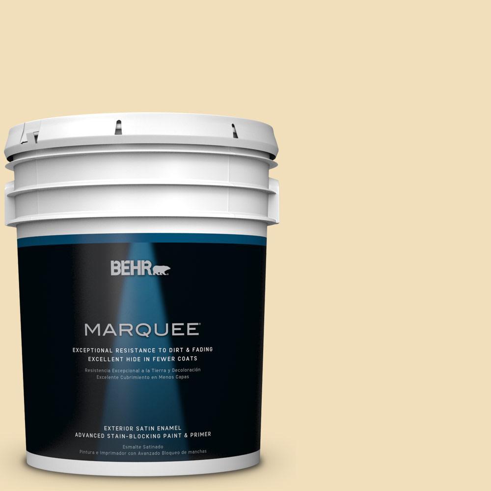 5-gal. #M320-3 Brushstroke Satin Enamel Exterior Paint