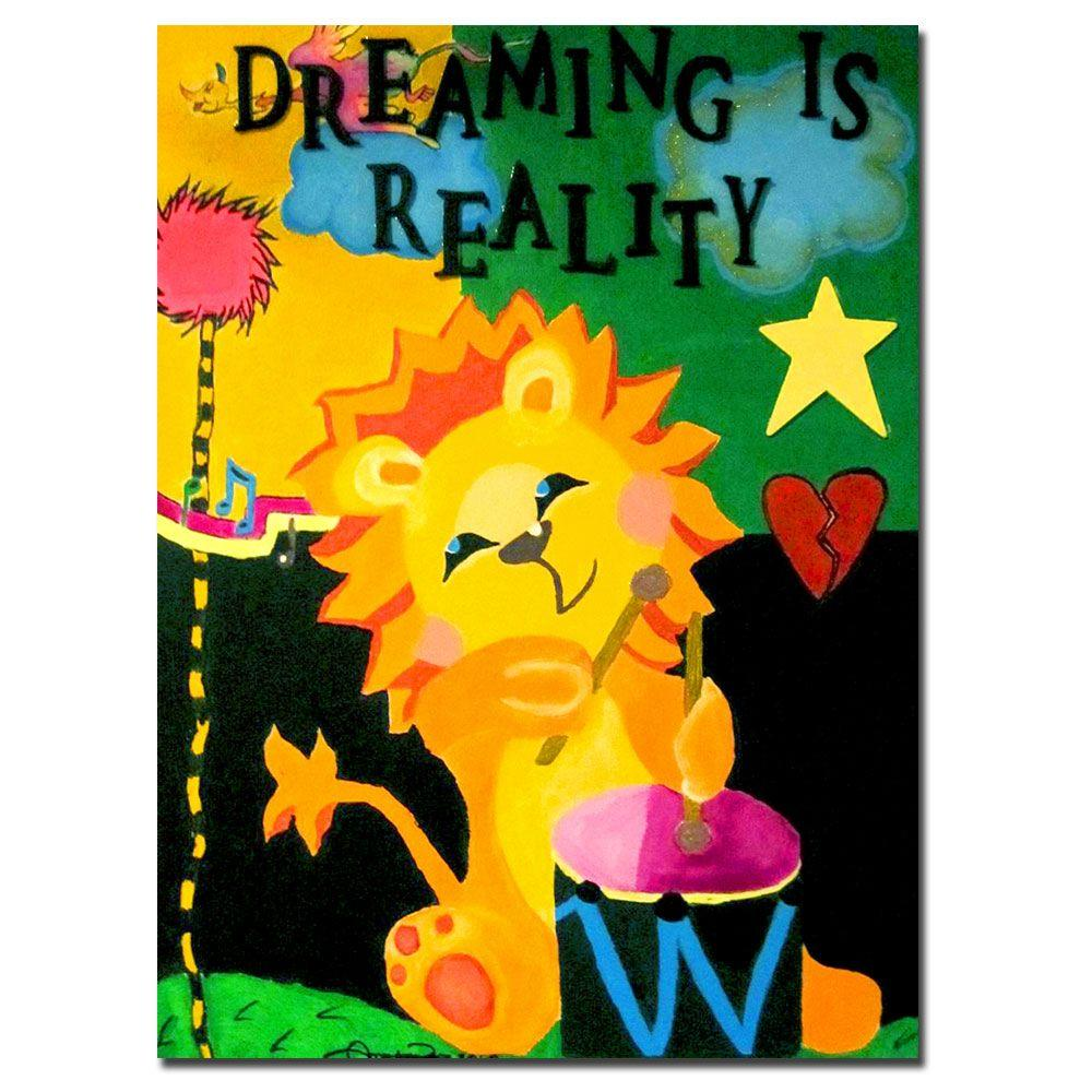 Trademark Fine Art 26 in. x 32 in. Dreaming is Reality Canvas Art