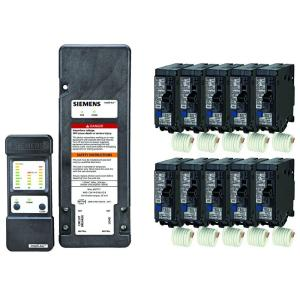 Siemens Arc-Fault Diagnostic Tool and 10-Units of 20 Amp Arc-Fault Circuit Breakers - Online Bundle Only by Siemens