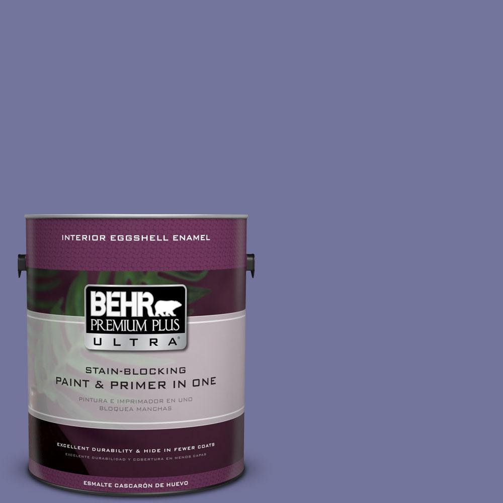 630D 6 Palace Purple Eggshell Enamel Interior Paint And Primer