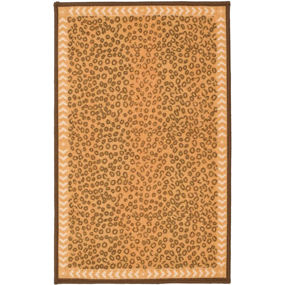 Safavieh Metropolis Camel/Brown 3 ft. 3 in. x 5 ft. Area Rug
