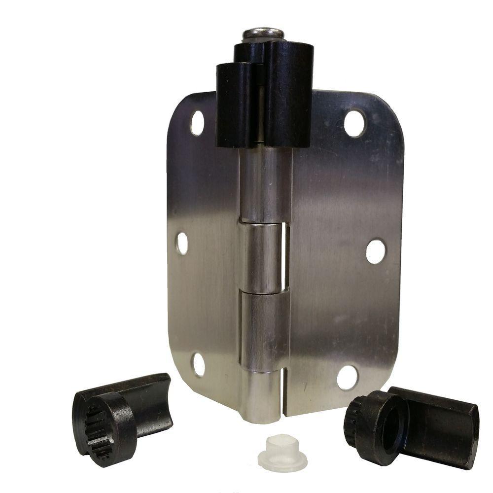 Express Products Oil Rubbed Bronze Adjustable Bumper Less Hinge Pin Door  Stop Commercial Size Door