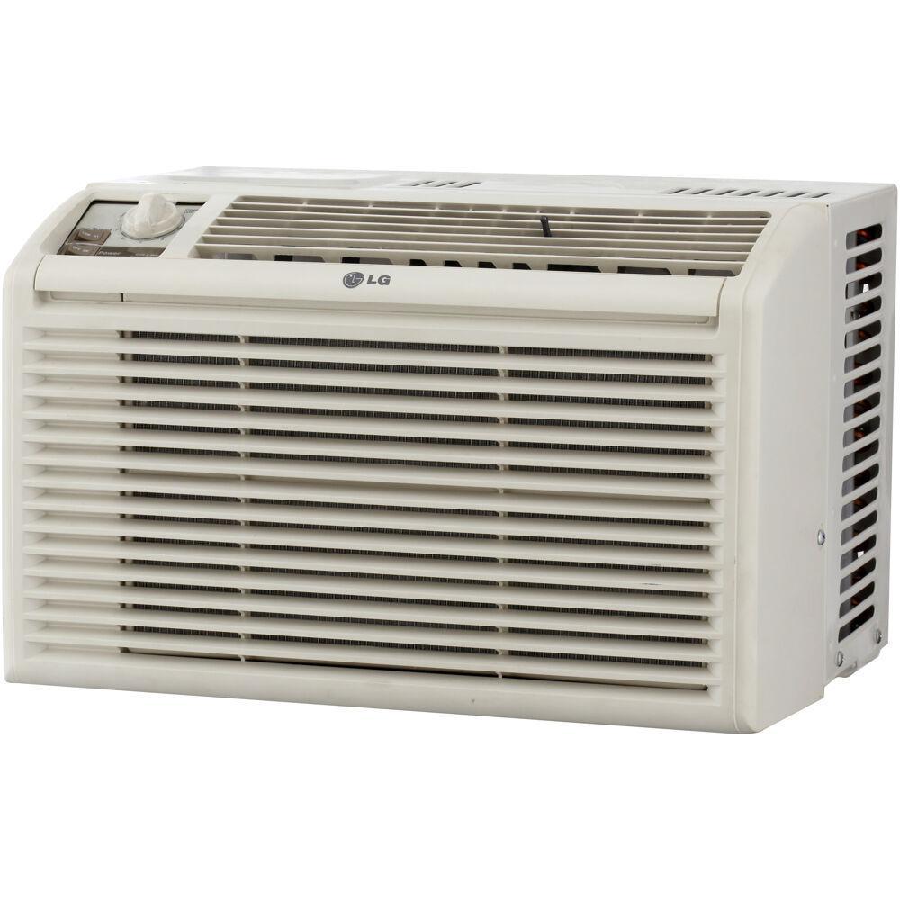 5000 BTU Window Air Conditioner with Manual Controls