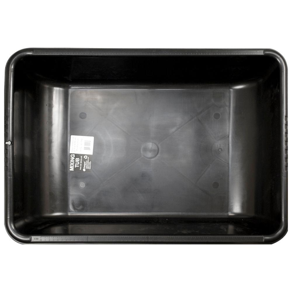 Plasgad Black Large Concrete Mixing Tub