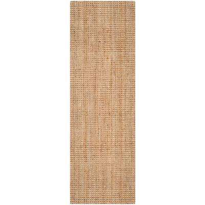 Natural Fiber Natural 2 ft. x 17 ft. Runner Rug