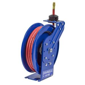 P Series Spring Driven Hose Reel with 50 ft. x 3/8 inch Low Pressure Air Hose