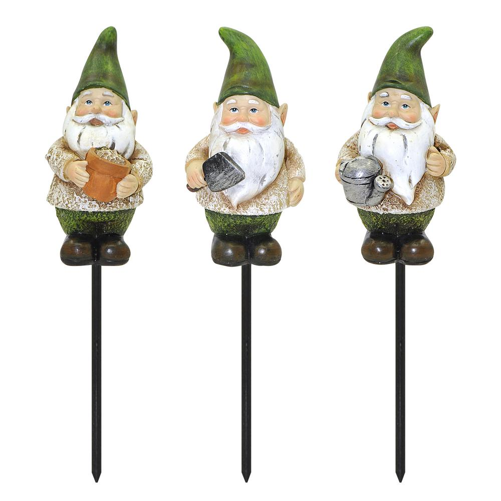 Charmant Rustic Gnome Plant Stake