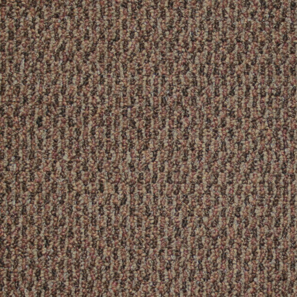 TrafficMASTER Skill Set - Color Henna Berber 12 ft. Carpet